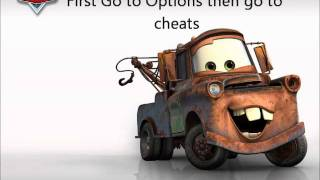 Cars 2 Cheats