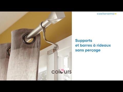 support sans per age pour tringle rideau doovi. Black Bedroom Furniture Sets. Home Design Ideas