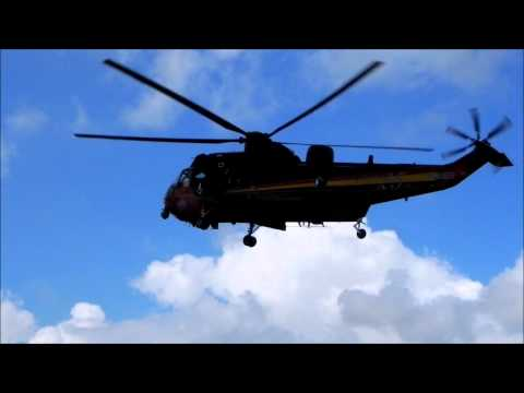 Belgium - Air Force Westland Sea King Mk48 RS05  bij opendeurdag Brandweer Brugge