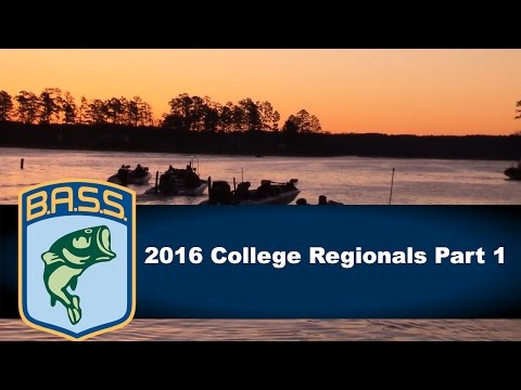 2016 College Bass Regionals part 1