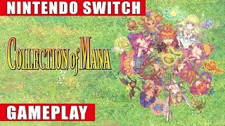 Collection of Mana Nintendo Switch Gameplay