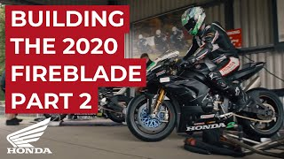 Building the Honda Racing 2020 Fireblade SP  - Part 2