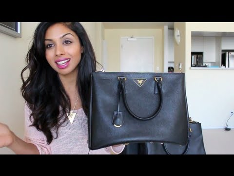 messenger bags prada - Handbag Review: Prada Saffiano Lux Tote and Cheaper Versions and ...