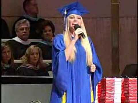 """""""Lifesong"""" Casting Crowns (cover) by Carly Turner at WA Graduation"""