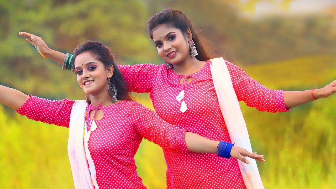 Dure Oi Pahar Misheche Dance Cover   Anushri and Rakhi Dance   Folk Creation