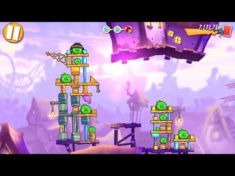 Angry Birds 2   Terence Trial and Clan vs  Clan Gameplay