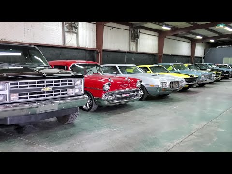 Texas Classic Car Dealer Showroom Walkthrough Sherman, Texas PC Classic Cars Vlog Stop Samspace81 4K
