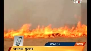 Farmers continue to burn farms in Punjab