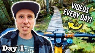 Starting Daily Videos From Whistler Bike Park
