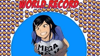 WE BROKE THE WORLD RECORD - SO MUCH MASS AGARIO (MOST ADDICTIVE GAME - AGAR.IO) w/ Bodil40 and Sly