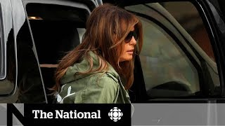 Melania Trump's visit to shelter for migrant children creates more controversy