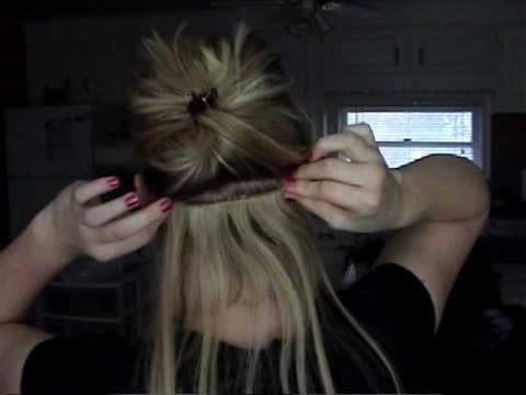 Semi permanent clip in hair extensions youtube pmusecretfo Image collections