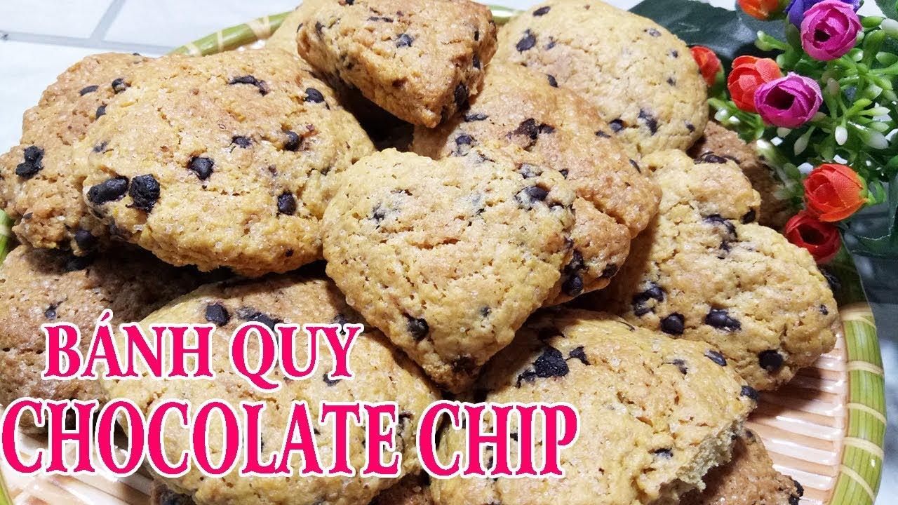 ✅Cách làm Bánh Quy bơ CHOCOLATE CHIP đơn giản tại nhà mà ngon tuyệt | Món Ngon Gia Đình