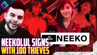 100 Thieves Sign Neekolul to the Team