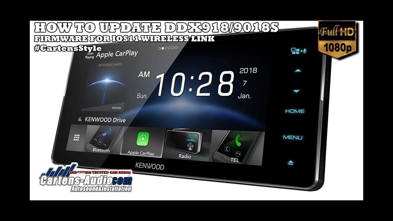 TUTORIAL Update Firmware KENWOOD DDX Seri 918WS/9018S [Cartens Audio]
