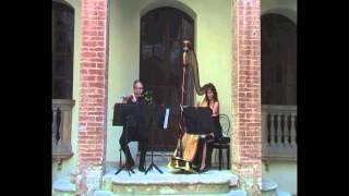 Nino Rota, Sonata per flauto e arpa (1. Allegro molto moderato)