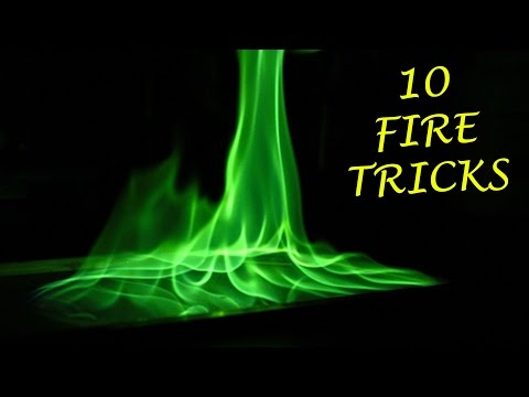10 FANTASTIC THINGS CAN BE MADE WITH FIRE | LIFE HACKS!