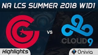 Video CG vs C9 Highlights NA LCS Summer 2018 W1D1 Cluch Gaming vs Cloud9 by Onivia download MP3, 3GP, MP4, WEBM, AVI, FLV Juni 2018