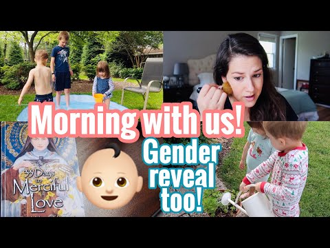 GENDER REVEAL!  and a morning with us!  Quarantine life || Morning routine 2020