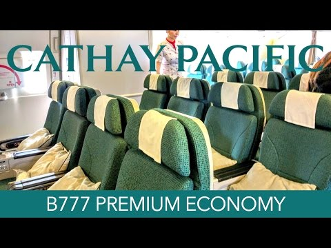 Cathay Pacific Premium Economy Review B777-300ER DUS-HKG Trip Report