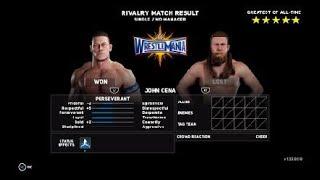 WWE 2K18 Daniel Bryan Vs John Cena Universal Championship Wrestlemania