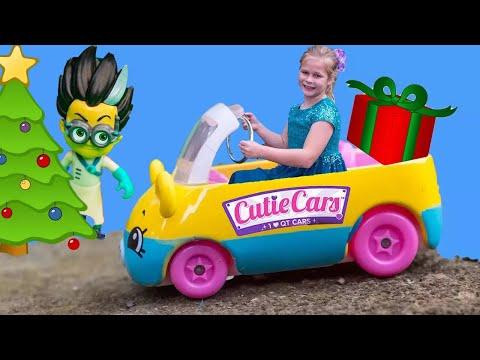 ASSISTANT Hunt For PJ Masks + Cutie Cars Scavenger Hunt Video