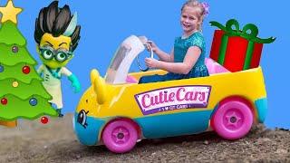 ASSISTANT Hunt For PJ Masks + Cutie Cars + Fingerlings Scavenger Hunt Video