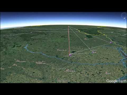 Análise do meteoro (bólido) de Japurá no Paraná (Imagens Exclusivas do meteoro)