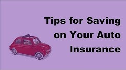 2017 Motor Insurance Tips | Tips for Saving on Your Auto Insurance