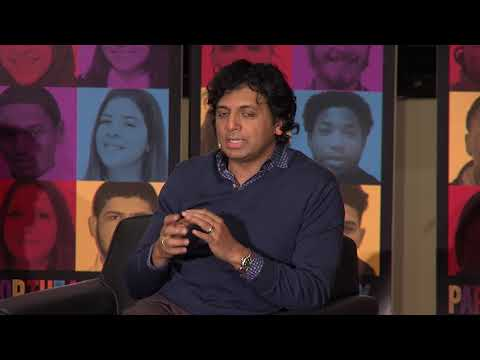 with M Night Shyamalan