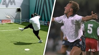 Akinfenwa recreates CLASSIC England World Cup goal!