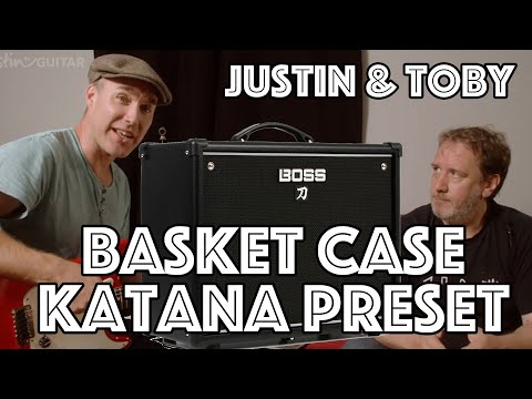Boss Katana Patch: Basket Case By Green Day (Patch, Demo & Tutorial)