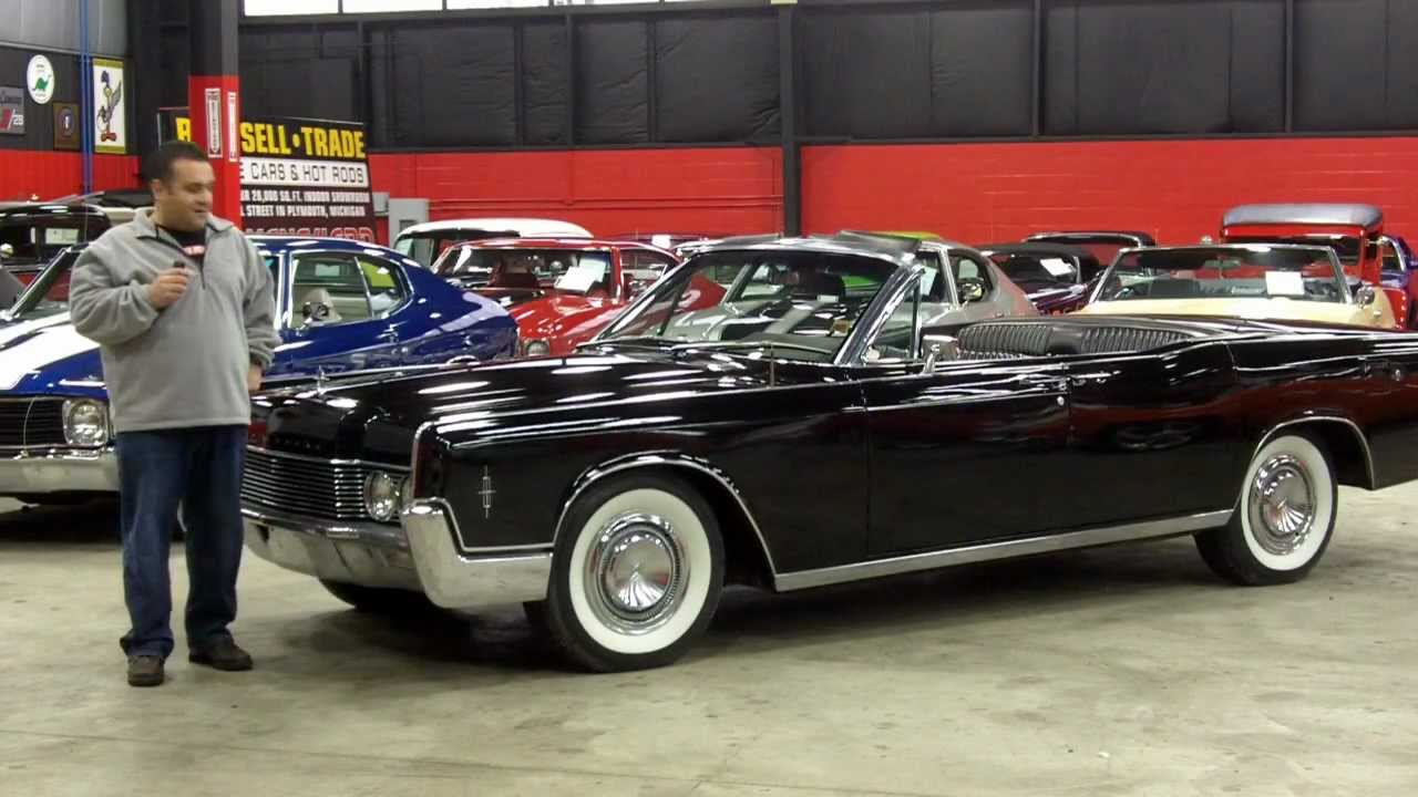 1966 Lincoln Continental Convertible Suicide Doors Entourage Classic ...