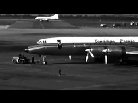 """CP Air Bristol Britannia - """"Amsterdam Schiphol"""" - 1961"""
