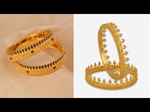 latest-gold-pichodi-bangels-designs||designer-gold-pichodi-bangels-designs-for-women