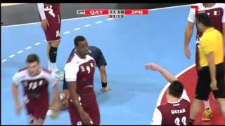 ハンドボール アジア選手権 日本vsカタール 後半