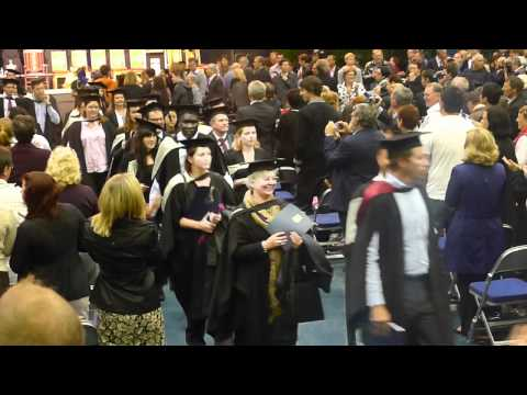 Graduation at the University of Southern Queensland, April 2012