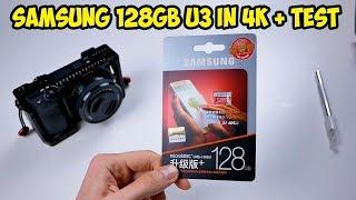 Micro SD Samsung 128GB U3. Скоростная 100/90 мб/с. Для записи 4К видео