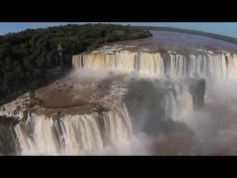 Iguazu Falls – Flythrough with a Phantom Drone