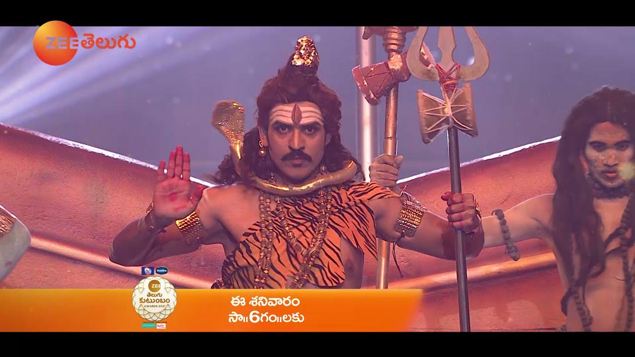 Akul Balaji & Roopa Special Performance Promo | Zee Telugu Kutumbam Awards 2021 | 23rd Oct Sat 6 PM
