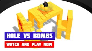 Hole vs Bombs · Game · Gameplay