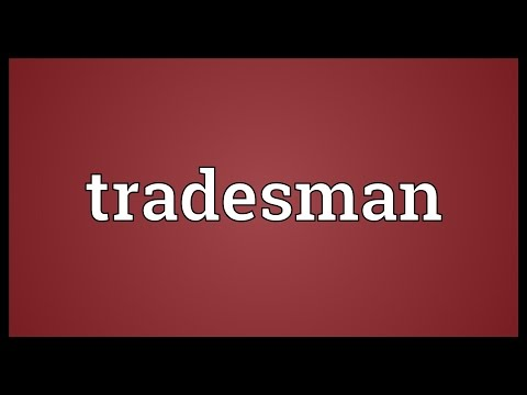 Tradesman Meaning