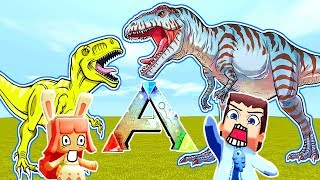 Pirate Ships on the Amissa Map!   Let's Play Ark: Survival