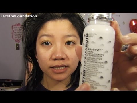 Peter Thomas Roth De-Spot review for acne/hyperpigmented skin!