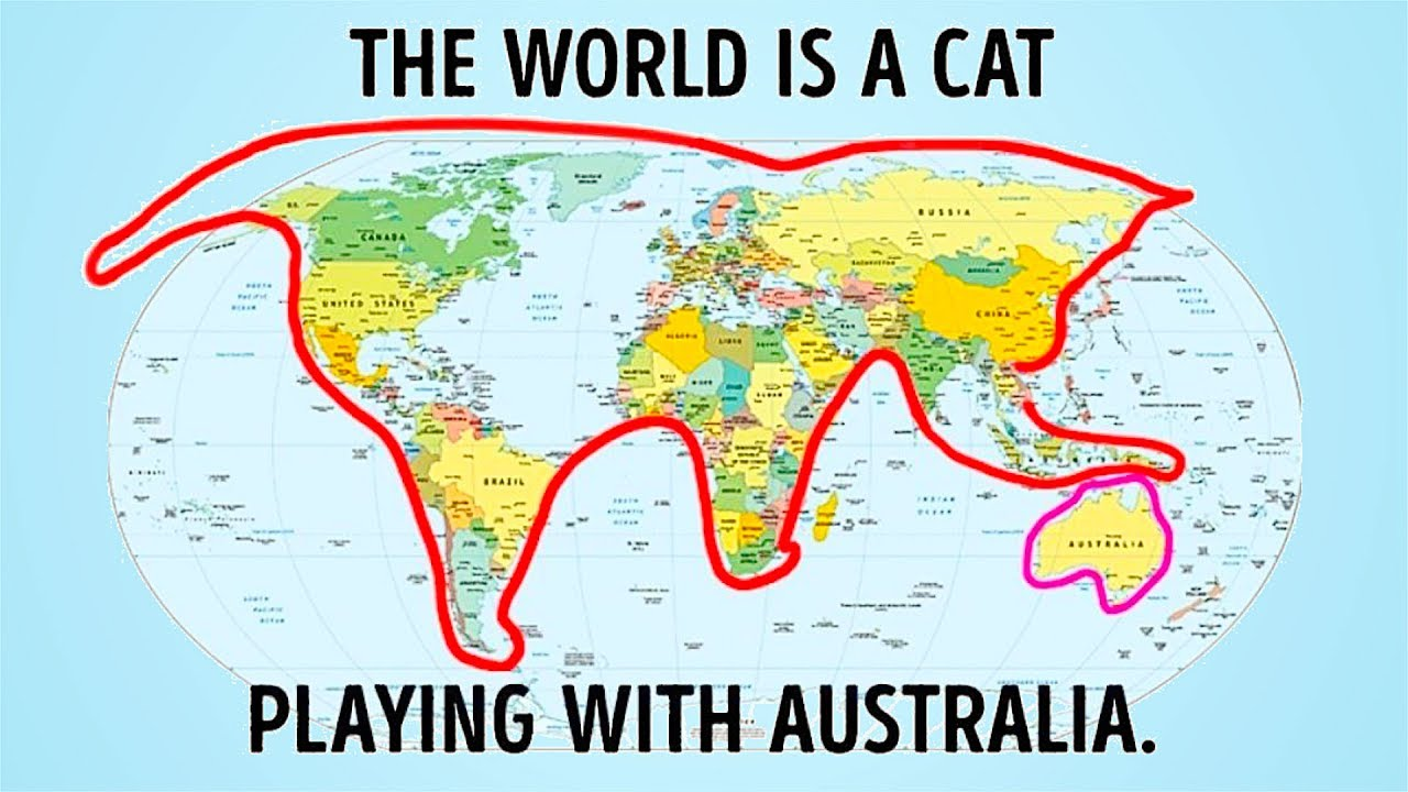 Map Of Australia Funny.21 Shocking And Funny Facts They Didn T Teach You At School