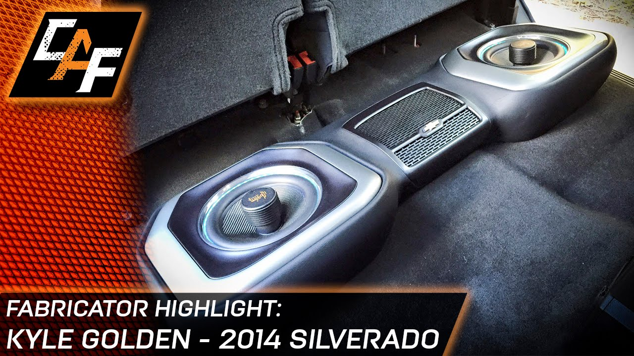 Kyle Golden S 14 Silverado Underseat Subwoofer Box Door