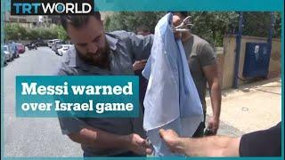 Israel v Argentina match in Jerusalem sparks Palestinian protest