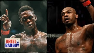 Israel Adesanya is playing his cards right with Jon Jones - Chael Sonnen | Ariel & The Bad Guy