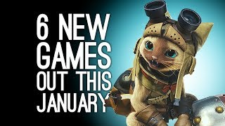 6 New Games Out in January 2018 for PS4, Xbox One, PC, Switch