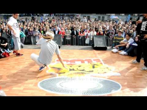 Maya battle Moscow 2011 semi final Team BBF vs All the most TIE BREAK